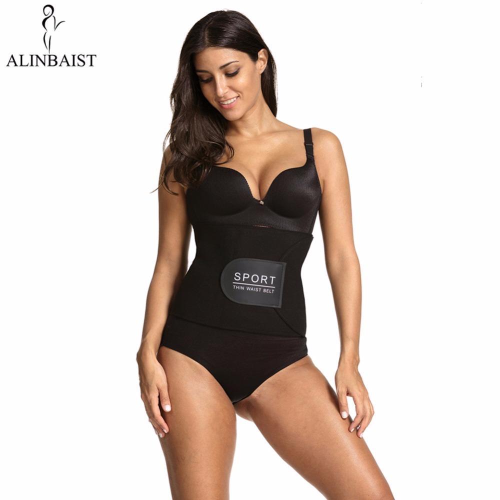 5bbb2e09fc 2019 Neoprene Waist Trainer Sweat Belt Waist Trimmer Slimming Corset Belt Body  Shapers Cincher Tummy Control For Men Women From Honhui