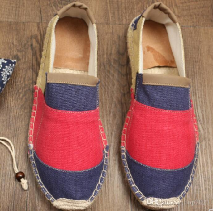 Women Flats Tendon Boutique canvas Comfortable breathable slip Thick bottom soft luxury classic loafers Soft simple Espadrilles cool Flats cheap marketable discount looking for 2jvIHPAL