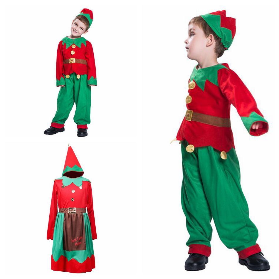 Compre Trajes De Navidad Para Bebés Niños Niñas Elfo De Navidad Con  Conjuntos De Diademas Boutique De Otoño Niños Cosplay Conjuntos De Ropa  Ooa5846 A  13.27 ... 9926cad243db
