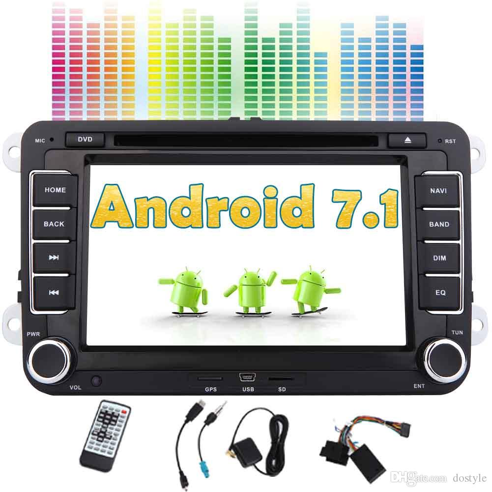 Eincar Android 71 Double Din Car Stereo GPS Navigation For VW PASSAT Golf 7 DVD Player In Dash Headunit Radio Receiver Canbus Dvd Installer