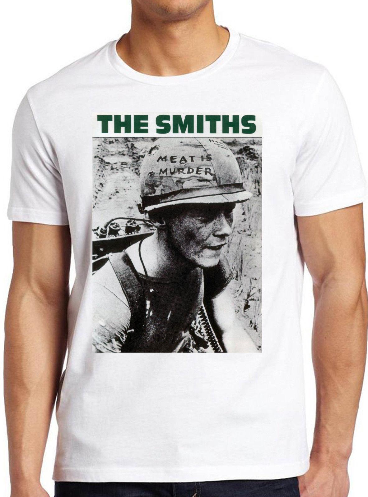 4c063c319119 The Smiths Meat Is Murder Alternative Rock Morrissey Men Women Unisex TShirt  256 Cloth T Shirt Shirt Site From Yubin3, $27.52| DHgate.Com