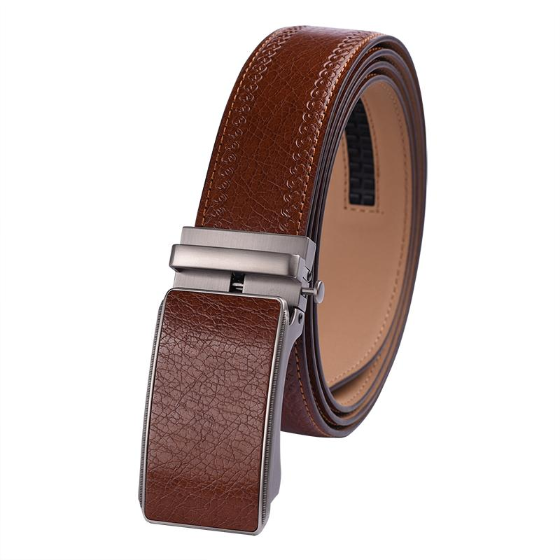100% Genuine Cow Leather Belt Men Luxury Belt Designer High Quality ... 6908e9e084
