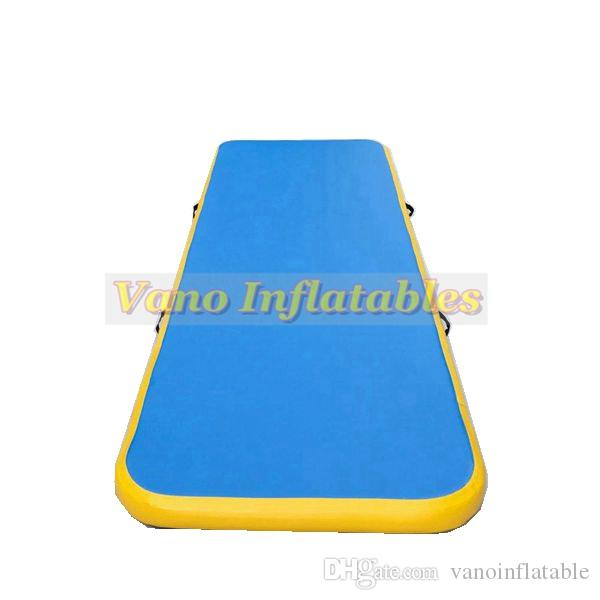 Track Gymnastics Tumble Track for Sale Air Track Inflatable for Cheerleading, Gym Training, Beach, on Water, Home use with Pump Free Shippin