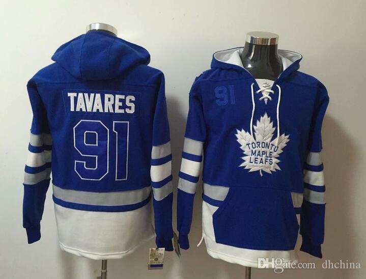 New Maple Leafs Hoodies Jerseys  91 John  34 Matthews  16 Marner  29 ... 3999b8aa1