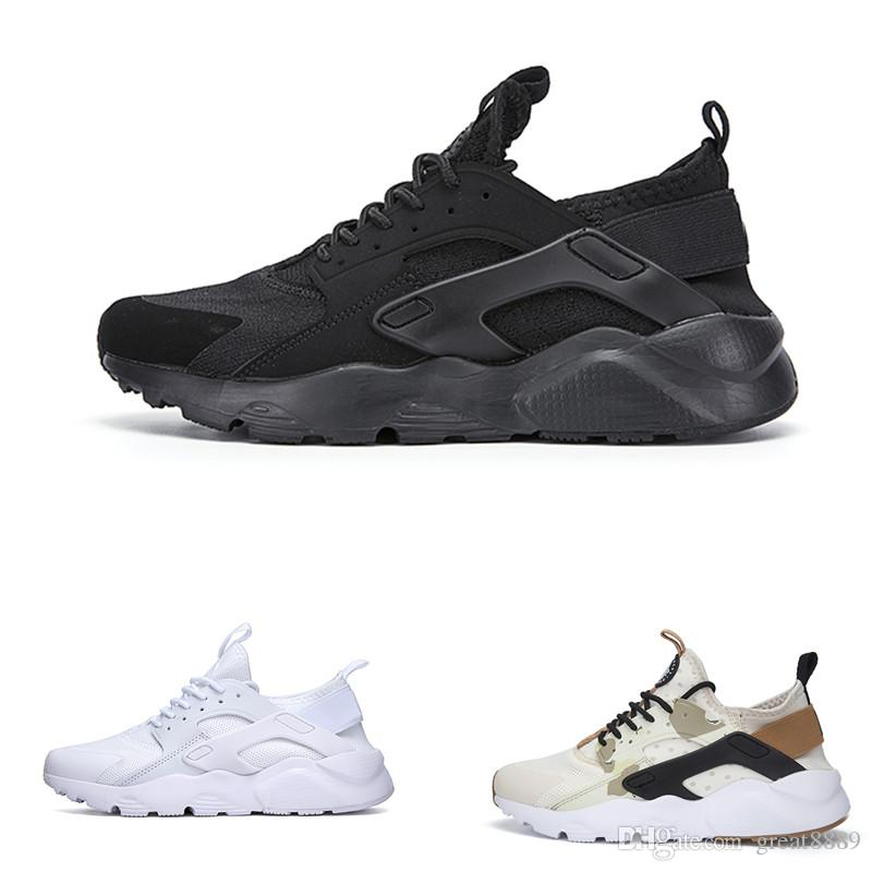 8b0ffa07696d 2019 Cheap Huarache 1 IV 4 Ultra Classical All White Black Red Grey Huaraches  Shoes Men Women Running Shoes Sport Sneakers Us5.5 11 From Great8889