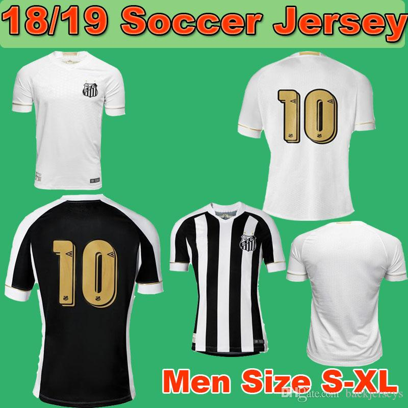 2019 18 19 SANTOS FC Soccer Jersey 2018 2019 Santos Bom Bil Men Home Away  Jerseys Shirt 18 19 Brazilian Football League Football Kit From  Backjerseys d5c026c8a