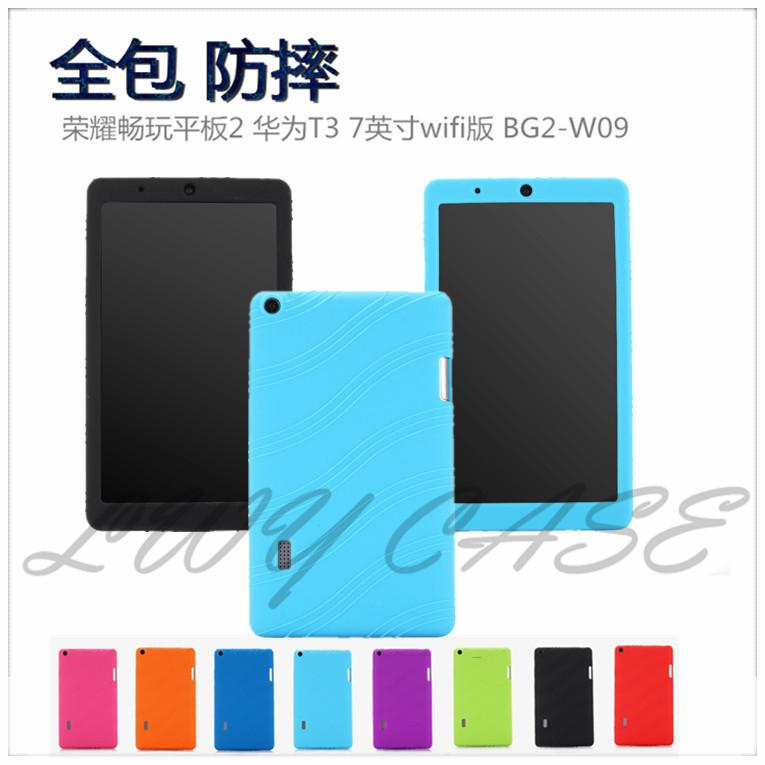 outlet store 11d8a 5bb4b For Huawei MediaPad T3 7.0 Wifi BG2-W09 Shockproof Soft Silicone Protector  Case tablet Cover
