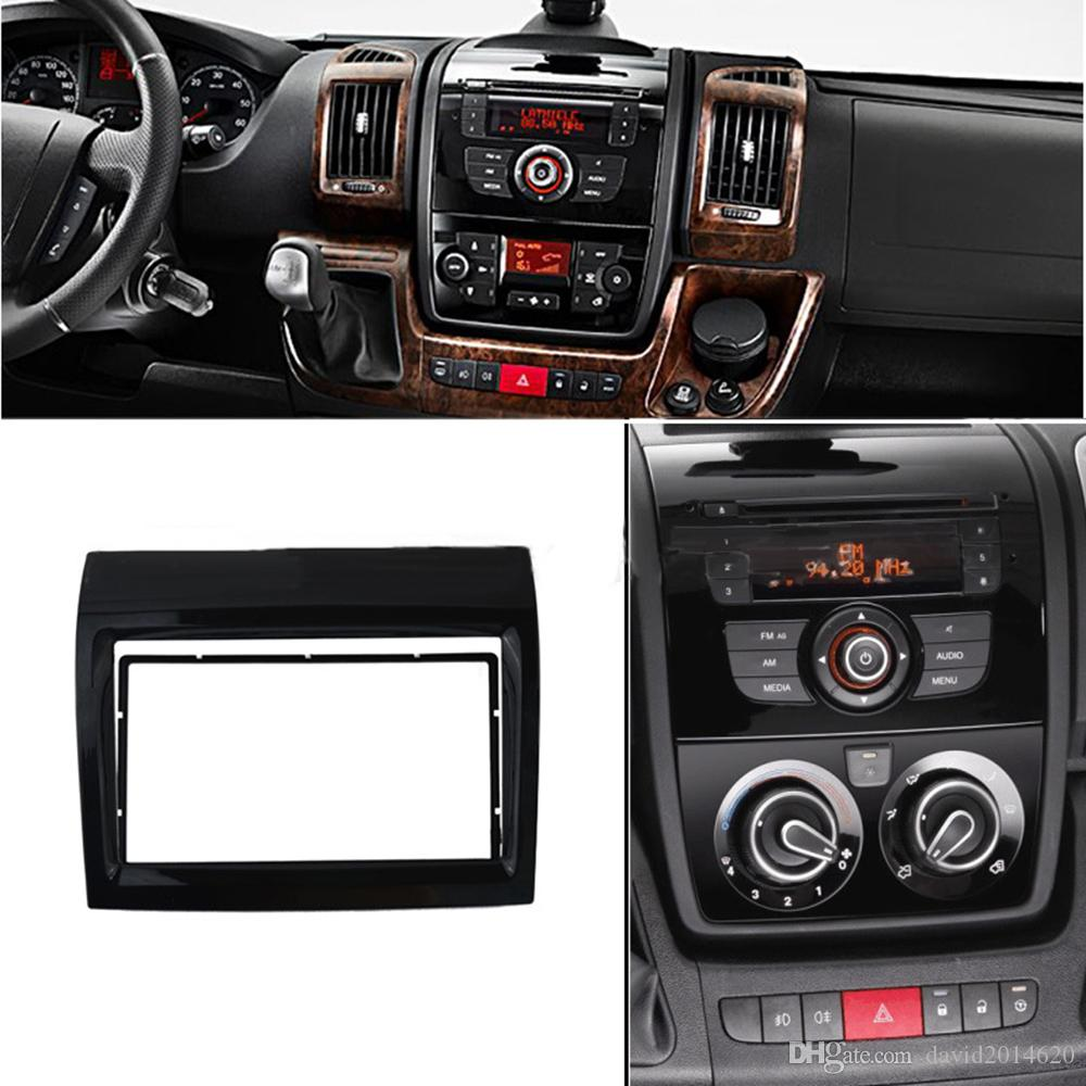 Góra Double Din Car Radio Frame For Fiat Ducato 2011 2012 2013 2014 IS47