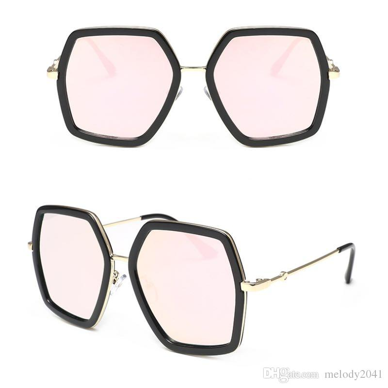 fda19be9b30 New Polygon Sunglasses Fashion Design Metal Square Sun Glasses For Ladies  And Men Wholesale Sunglasses Sunglasses Brands Best Sunglasses From  Melody2041
