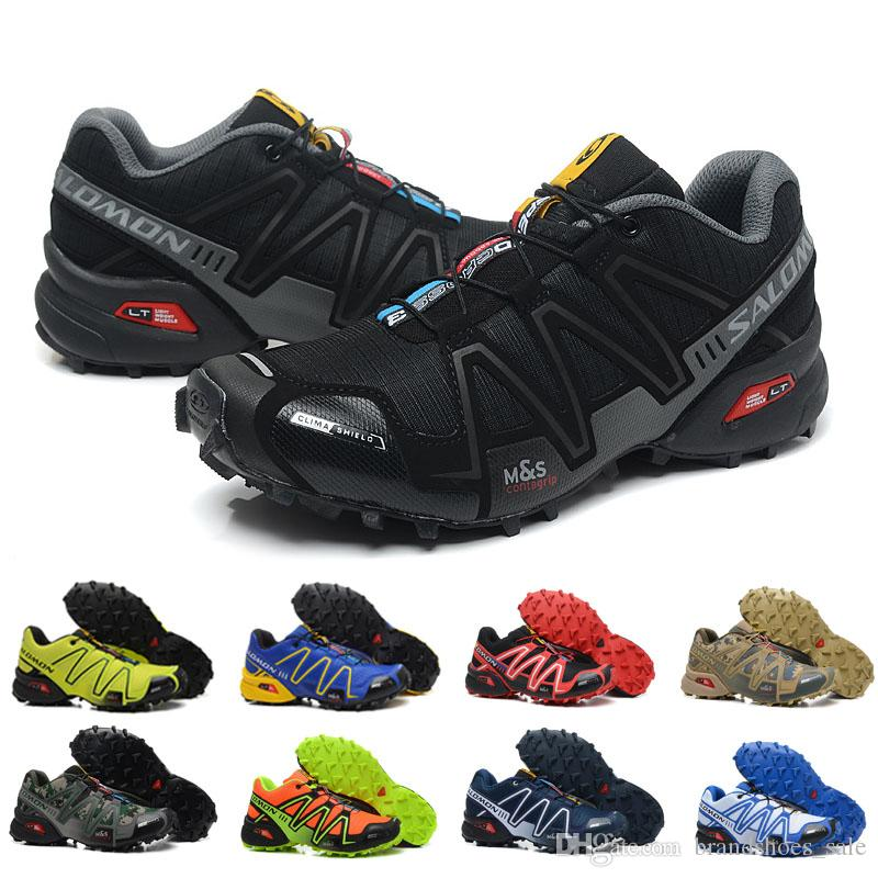 Sport Salomon Shoes Speed 3 CS Men Zapatos Hombre 2018 III Cross XiOkZPTu