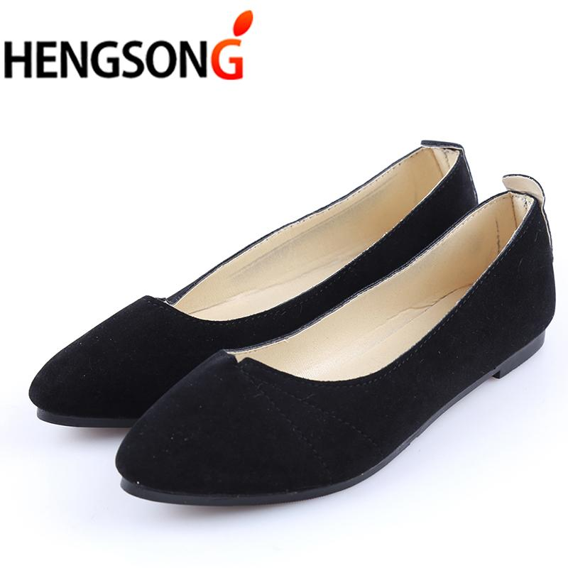 Women Shoes Women Ballet Flats Shoes For Work Cloth Flats Sweet Loafers  Slip On Women S Pregnant Flat Oversize PA911589 Mens Dress Shoes Prom Shoes  From ... 714ba4925978