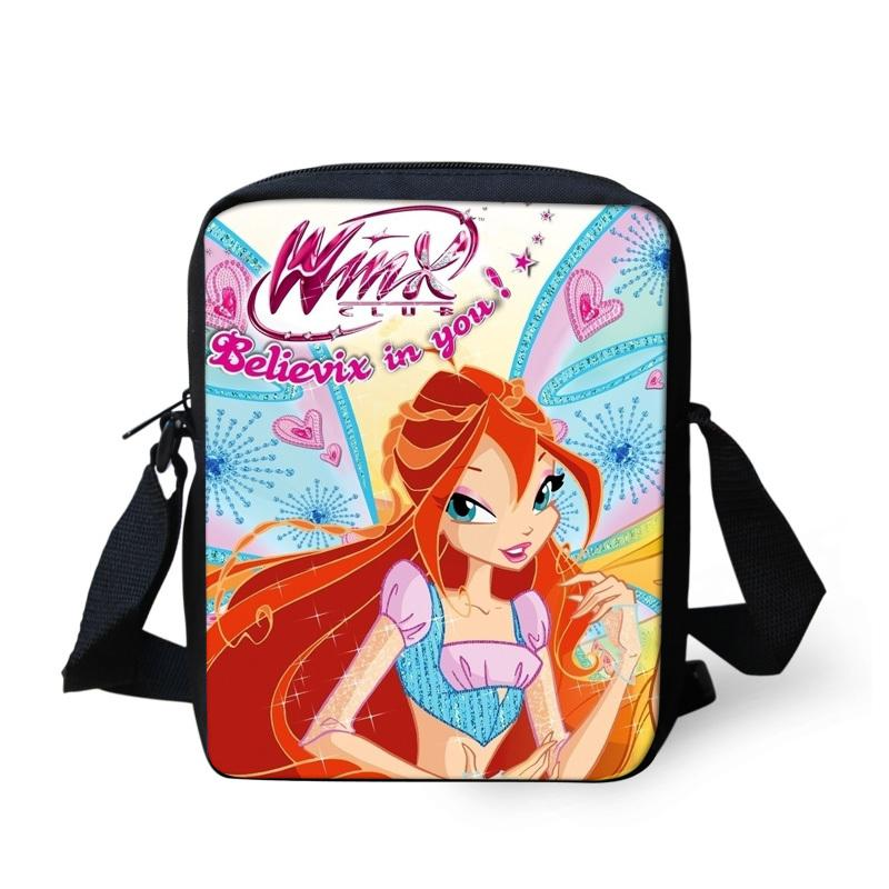 FORUDESIGNS Cute Cartoon Winx Club Girls School Bags Small Children Book Bag  For Kindergarten Women Shoulder Bag Kids Mochila Y18100805 Best Price On ... 73fdab949d4c4