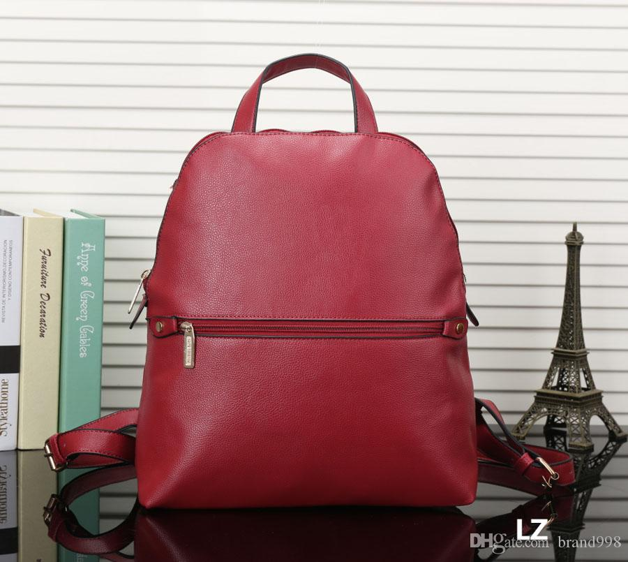 d4e43cd82d8f Luxury Brand New Travel Backpack Korean Women Female Rucksack Leisure  Student School Bag Soft PU Leather Women Bag Backpacks For Girls Waterproof  Backpack ...