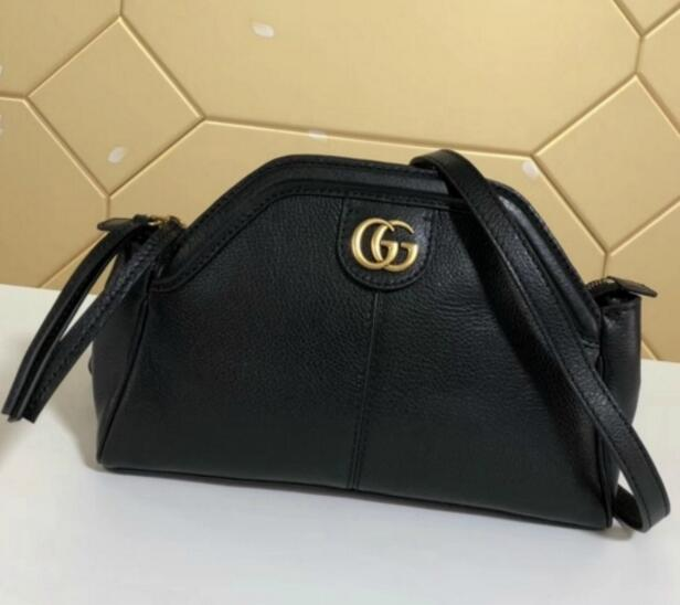 4b7b2025b22a TOP ORIGINAL 524620 BAGS BLACK MS LEATHER SHOULDER BAG Hobo HANDBAGS TOP  HANDLES BOSTON CROSS BODY MESSENGER SHOULDER BAGS Designer Bags Wallets For  Women ...