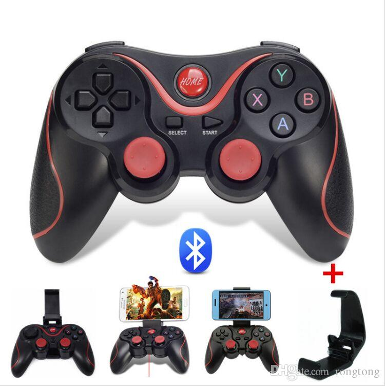 TERIOS T-3 T3 Android sans fil Bluetooth Gamepad Gaming Controller à distance Joystick BT 3.0 pour Android Smartphone Tablet PC TV Box Universal