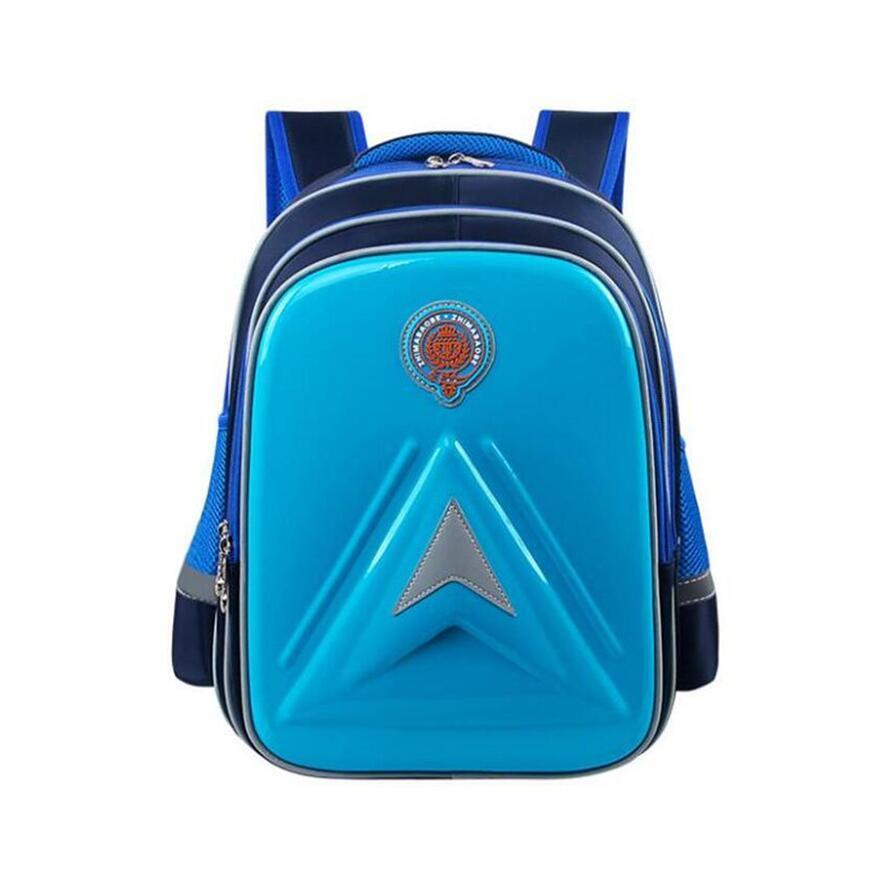 Pu Leather School Backpacks For Boys Elementary School Bags