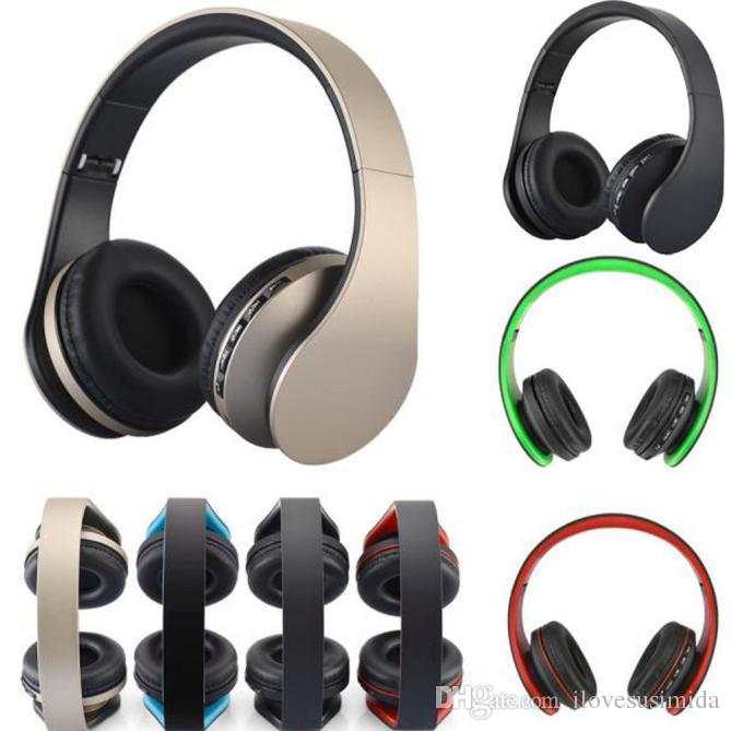 ccad23e7fb7 Andoer LH-811 4 in 1 Bluetooth 3.0 + EDR Headphones wireless headset with  MP3 Player FM radio Micphone for Smart Phones PC V126