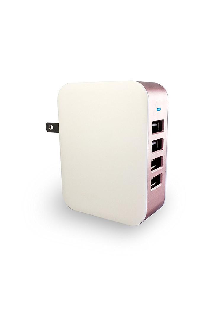 24W 4 포트 USB 벽면 충전기, iPhone 용 PowerPort 4, iPad Pro / Air 2 / mini, Galaxy S7 S6 Edge, LG, Nexus, HTC 등