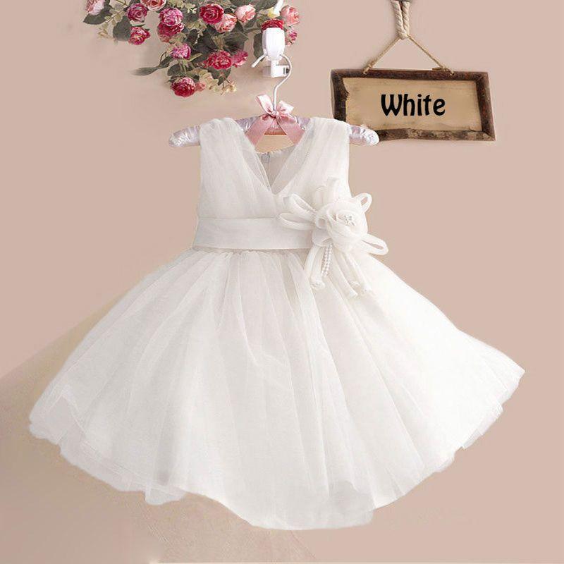 Retail girl dress for wedding girl lace party dress with belt flower,children princess dress L10038