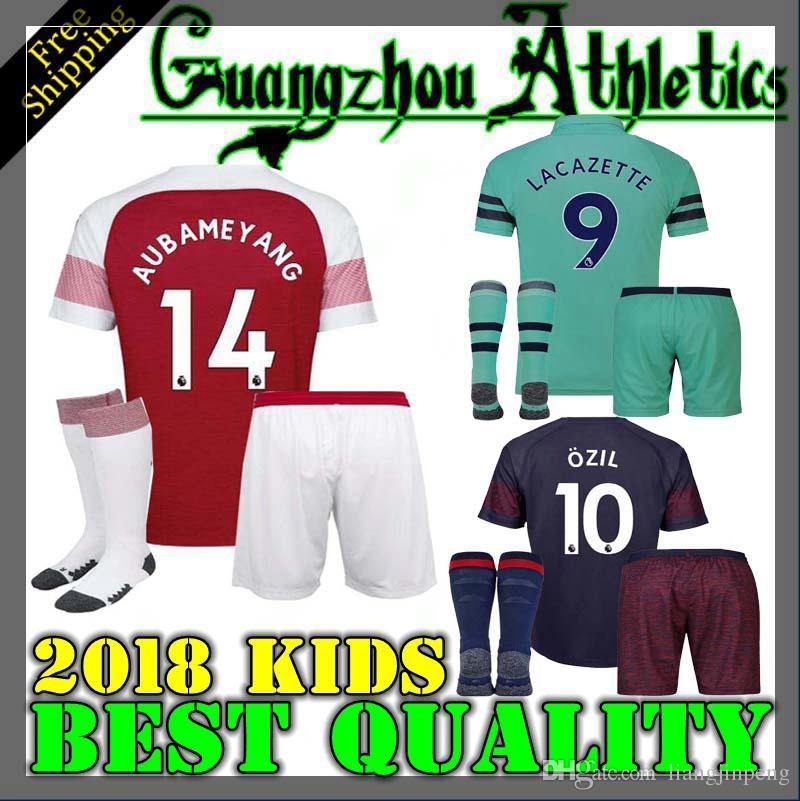 73044d0bb 2018 New Arsenal Soccer Jersey ALEXIS GIROUD OZIL WALCOTT XHAKA LACAZETTE  Jersey Thai Quality 18 19 Sports Football Shirts Jersey Online with   18.41 Piece ...