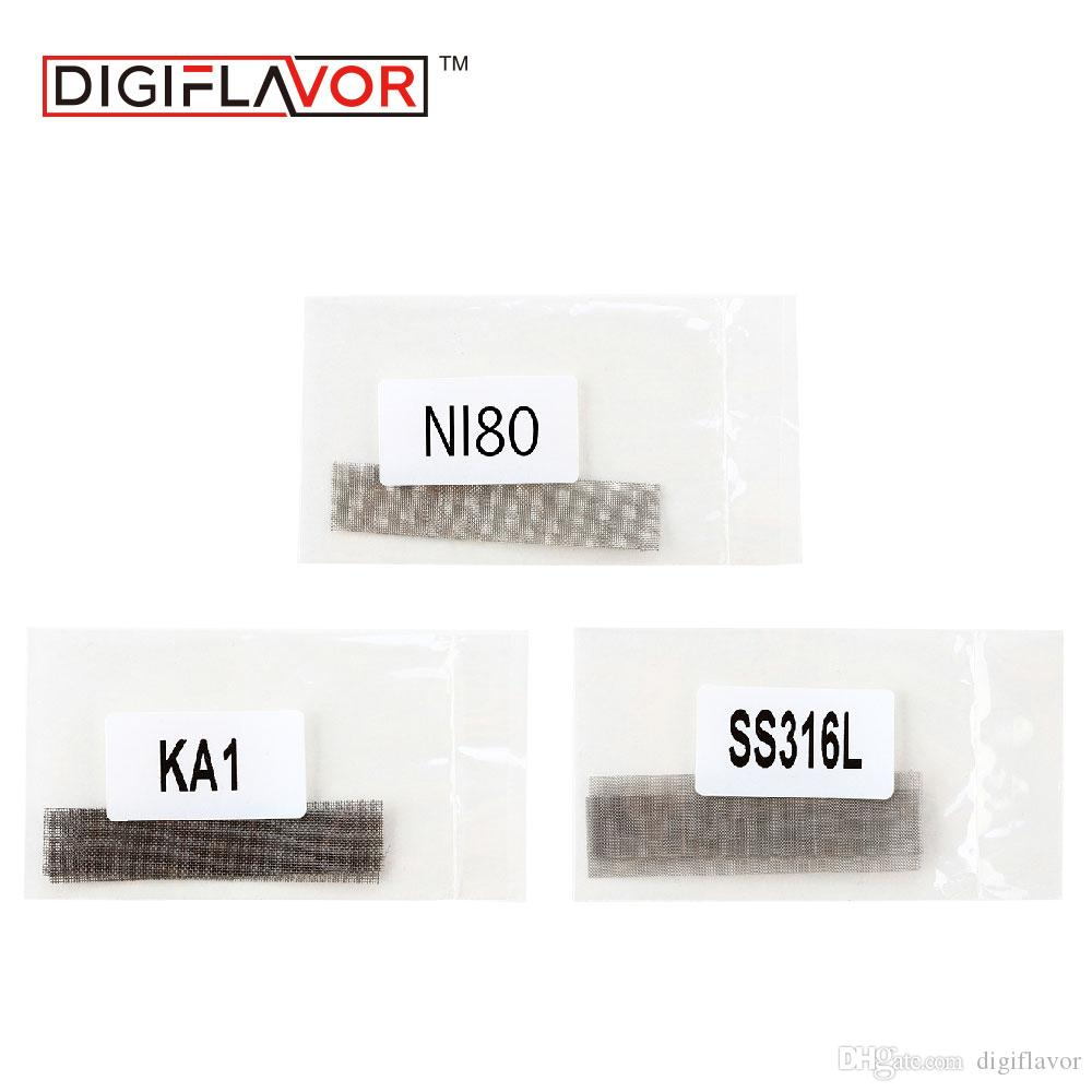 Digiflavor Mesh Coil Ni80/Ss316l/Ka1 Diy Wire Coil For Digiflavor ...