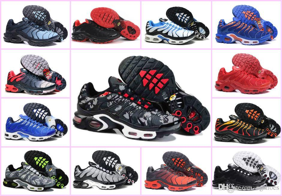 Wholesale 2019 AIR TN Plus Running Sports Shoes Chaussures Homme Tn Ultra  Men Jogging Sneakers 270 Maxes Cheap Basket Requin Zapatillaes Tns Sport  Shoes ... 37f552f41