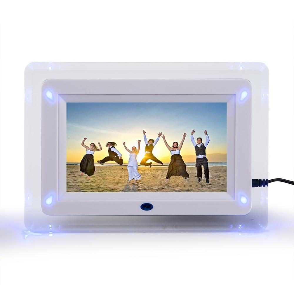 7 TFT-LCD Multi-functional Digital Photo Picture Movie Frame MP3 MP4 ...