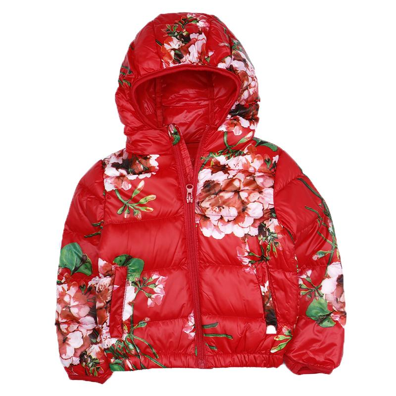 a62d99417293 Winter New Girls Flowers Hooded Casual Jacket. Fashion Versatile Warm Jacket  Special Sales Baby Girl Coat Kids Jacket Jackets For Boys On Sale Girls  Jackets ...