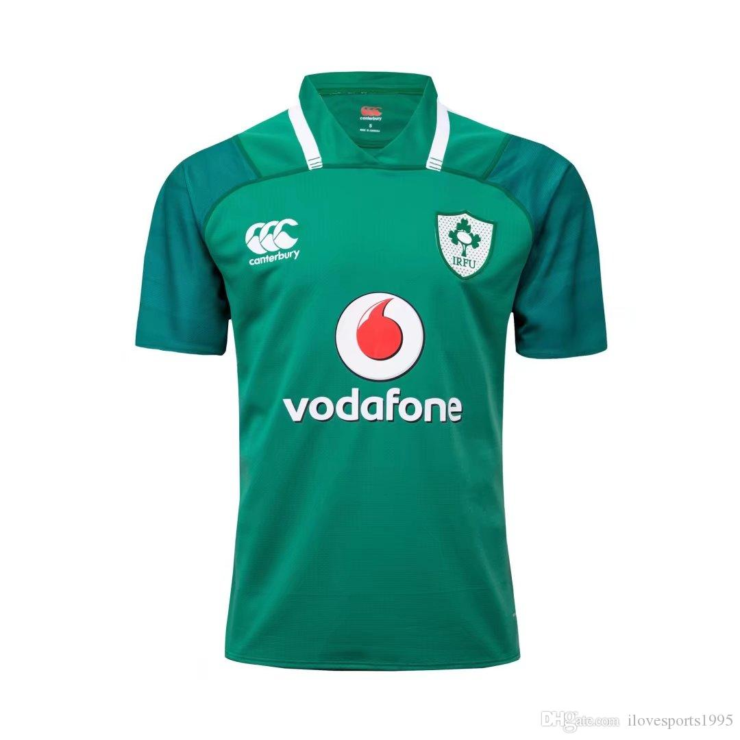 b43e96e3e8d Ireland 2017 2018 Rugby Jerseys Irish IRFU NRL National Rugby League ...