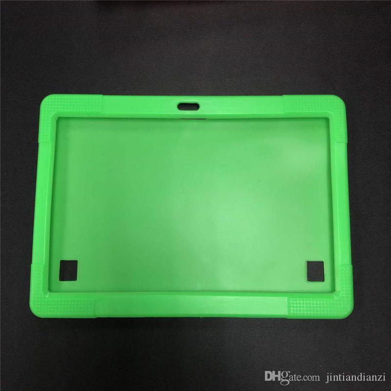 """JT Cheapest Anti Dust Kids Child Soft Silicone Rubber Gel Case Cover For 10"""" 10.1 Inch A83T A33 A31S Android Tablet pc MID Free DHL"""