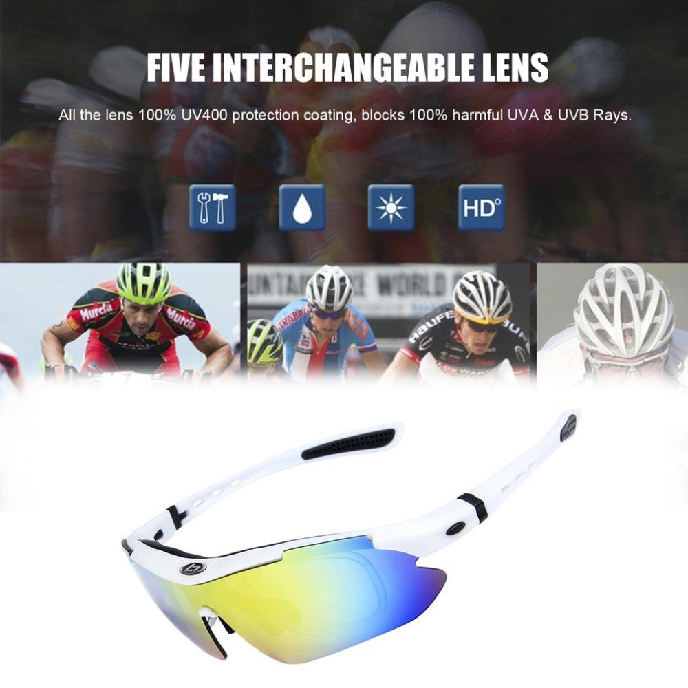 723e8afaf46 2019 Polarized Sports Sunglasses With 5 Interchangeable Lens For Men Women  Cycling Running Driving Fishing Golf Baseball Glasses From Ranshu