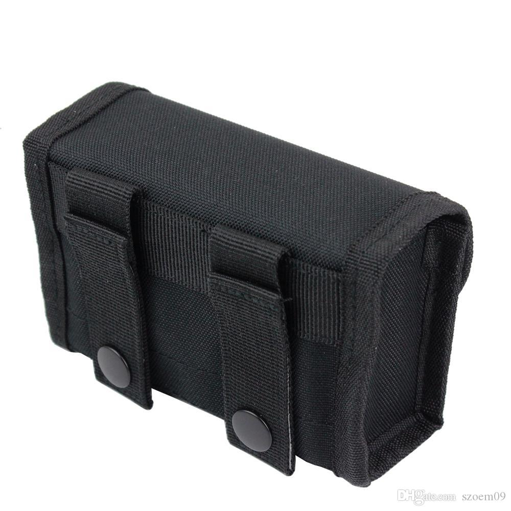 Hunting Tactical Ammo Pouch Molle 10 Shells Cartridge Airsoft Paintball Wargames Airsoft Paintball Wargames For 12 Gauge/20G Belt Waist Bag