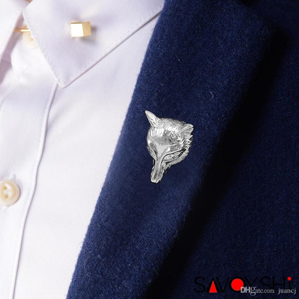 Newest Arrival Fox Brooches For Wedding Bouquet Vintage Wedding Hijab Scarf Pin Up Buckle Brooches Fashion Novelty Jewelry