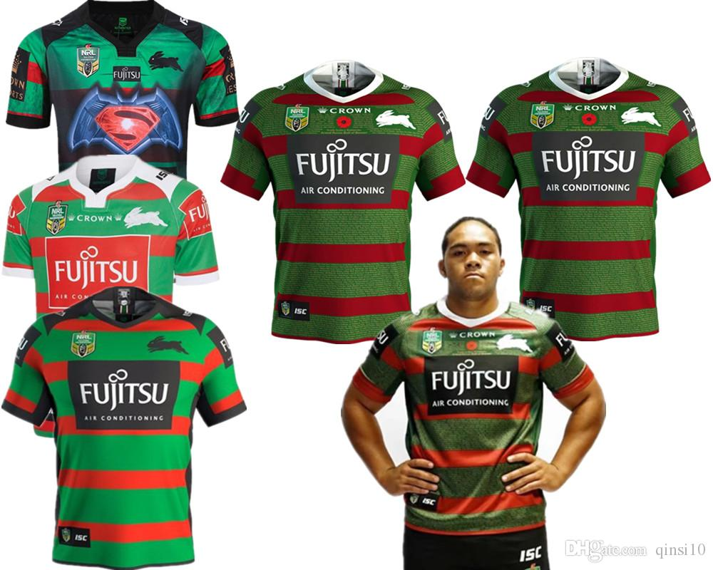 2019 2019 NRL JERSEYS Australia SOUTH SYDNEY RABBITOHS Australia NRL  National Rugby League SOUTH SYDNEY RABBITOHS 2018 ANZAC JERSEY Size S XXXL  From Qinsi10 ... 09027770e