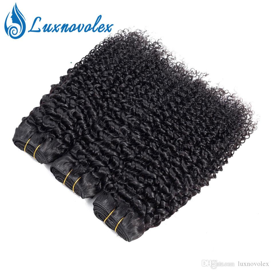 8A Brazilian Curly Virgin Hair Bundles 100% Unprocessed Brazilian Kinky Curly Human Hair Bundles Natural Color Wholesale Brazilian Remy Hair