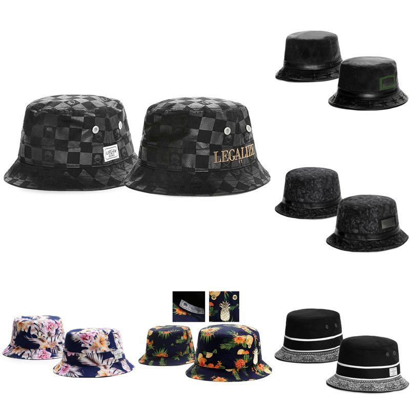 2018 New Men Women Snapback Bucket Hats Summer Designer Dad Hats Cayler    Sons Black Beach Mens Hat Baseball Cap Brand Sun Protection Hat Women Men  Hats ... db7be0d426b