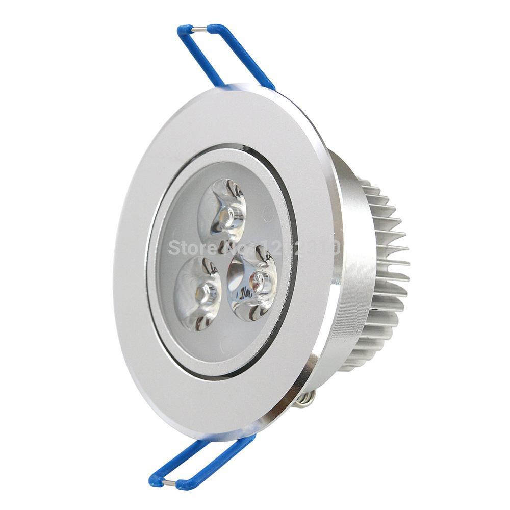 9 W Dimmable Downlight teto Epistar LED lâmpada do teto Embutida Spot light 110 V 220 V para iluminação doméstica 5 pçs / lote