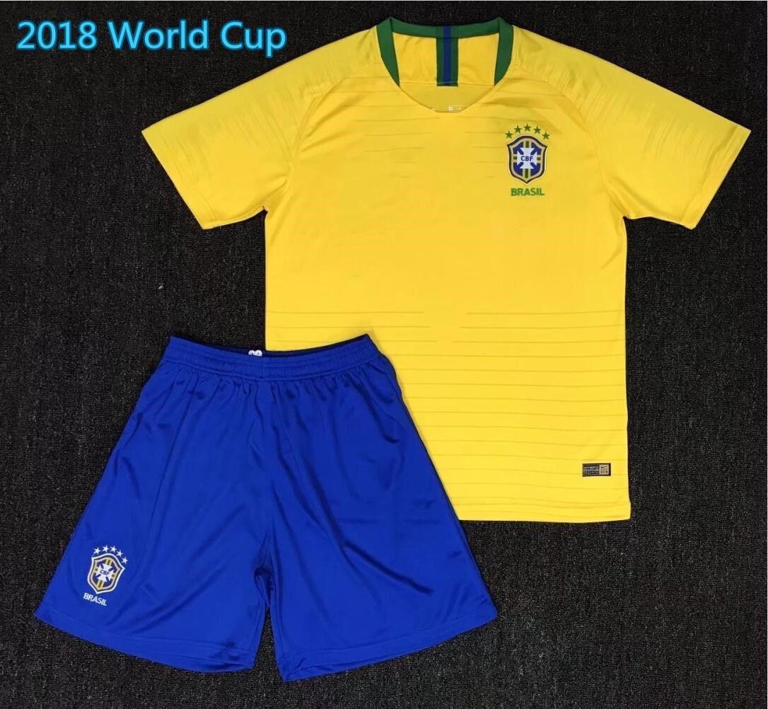 2018 coupe du monde brazil men soccer jersey 3 t.silva 10 neymar jr 10 pele 6 marcelo ronaldinho 11 oscar 22 coutonho maillot de football brazil socce
