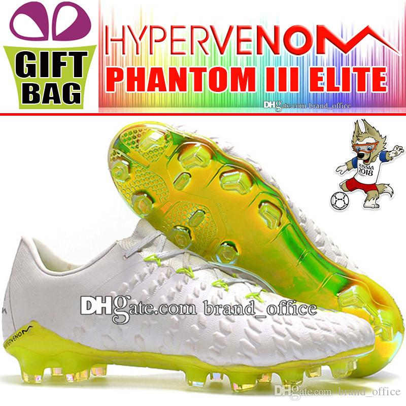 2720f5a8d5d New Mens High Hypervenom ACC Soccer Cleats Outdoor Low Soccer Boots  Hypervenom Phantom III Elite DF FG Football Shoes World Cup Soccer Shoes Buy  Kids Boots ...