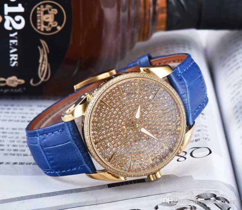 Cadeau de mode pour hommes Montres mécaniques automatiques Montres de luxe Hommes Acier Horloge en cuir Homme Montre-bracelet
