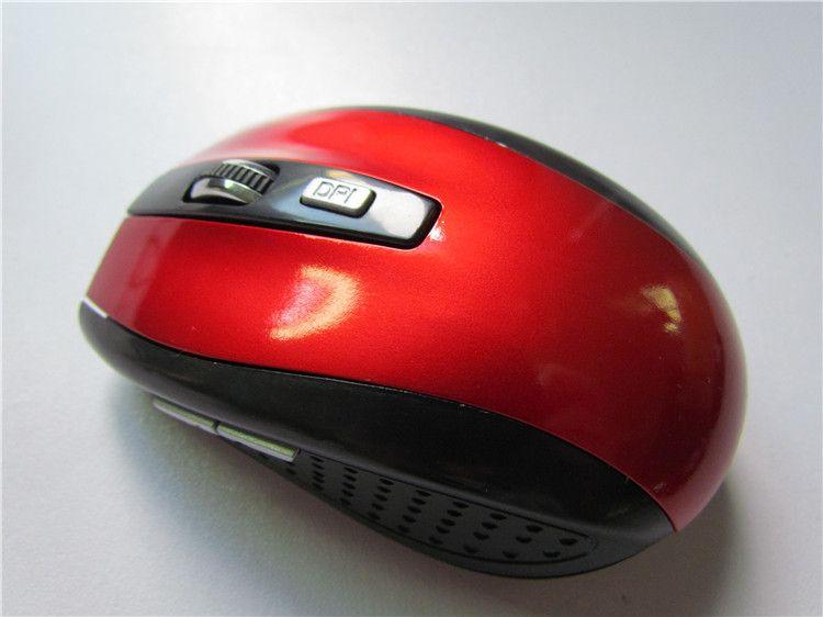 Mouse a 6 tasti Mouse 2.4GHz 2000 DPI Mouse ottico wireless Ricevitore USB Computer PC Wireless laptop