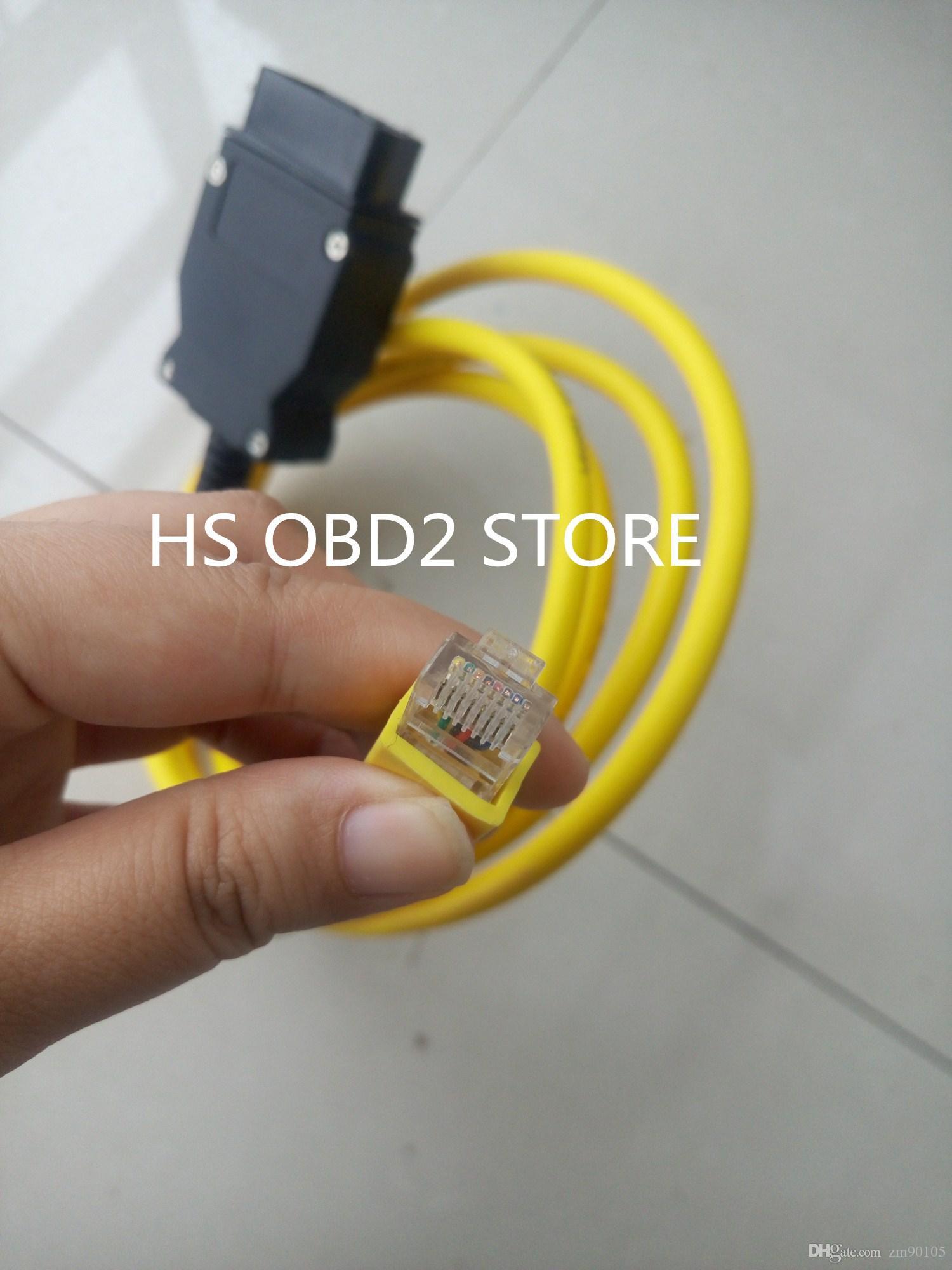 Alta Performance ESYS 3.23.4 Cabo de Dados V50.3 Para bmw ENET Ethernet para OBD2 Interface E-SYS ICOM Cabo de Codificação para F-serie