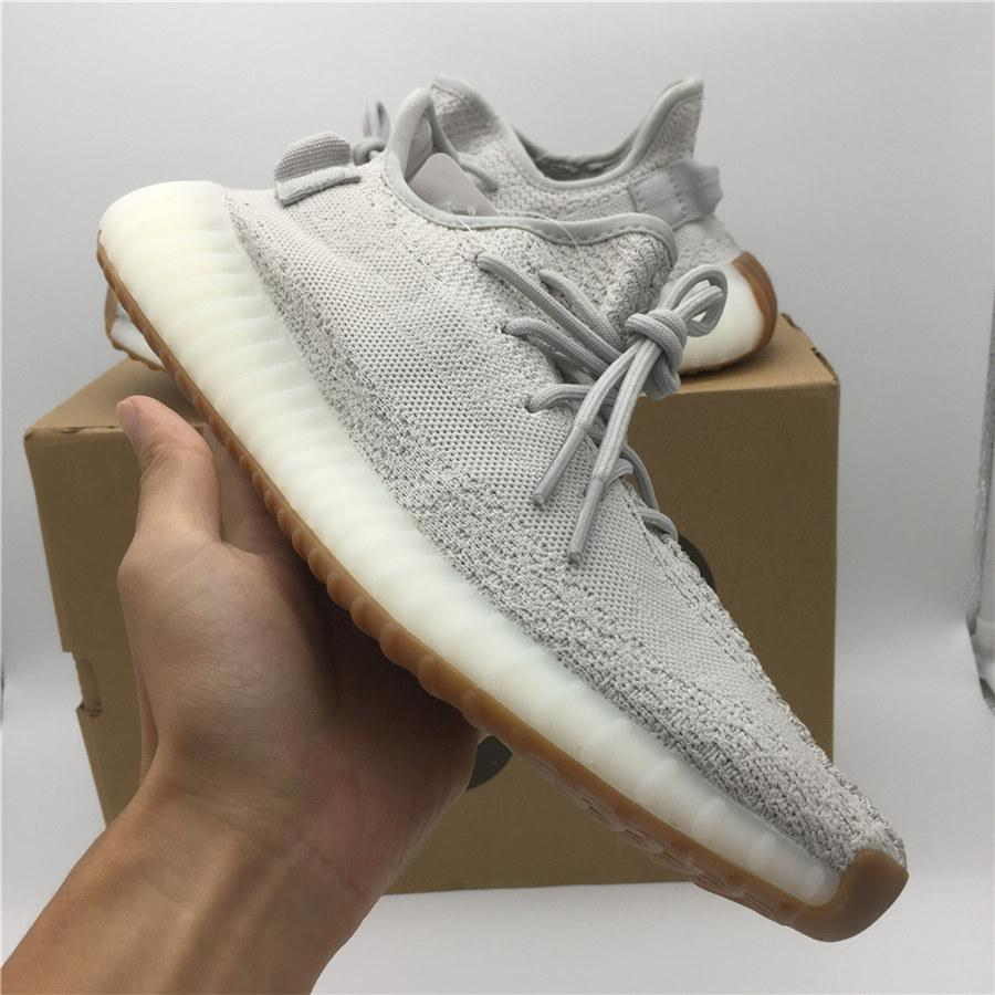 wholesale dealer e73f4 d5925 Vestiti Online Sply 350 Sesame Ice Yellow Butter V2 Kanye West Scarpe Da  Corsa Semi Congelate Cream White Zebra Bred Beluga 2.0 Sneakers Athletic  Sports ...