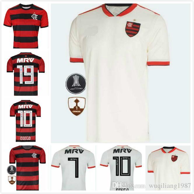 Envío Gratis 2018 CR Flamengo Camisetas De FútbolS 18 19 Flamenco Camisetas  Futbol Camisa De Futebol Maillot De Fútbol Uniforme Camisetas Brasil Por ... 7b22b8faed3f1
