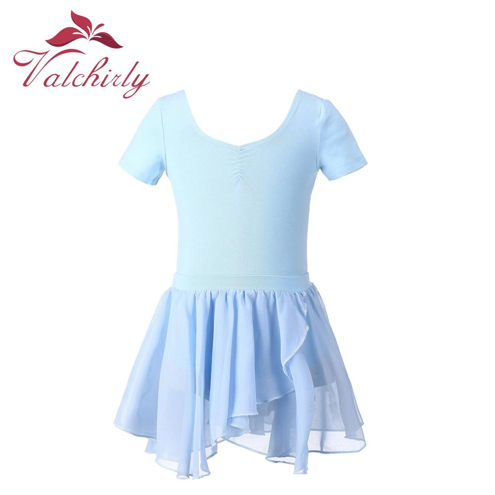 4d7ad32c8b Blue Gymnastics Leotard Lycra Kids Dance Costumes Girls Ballet ...