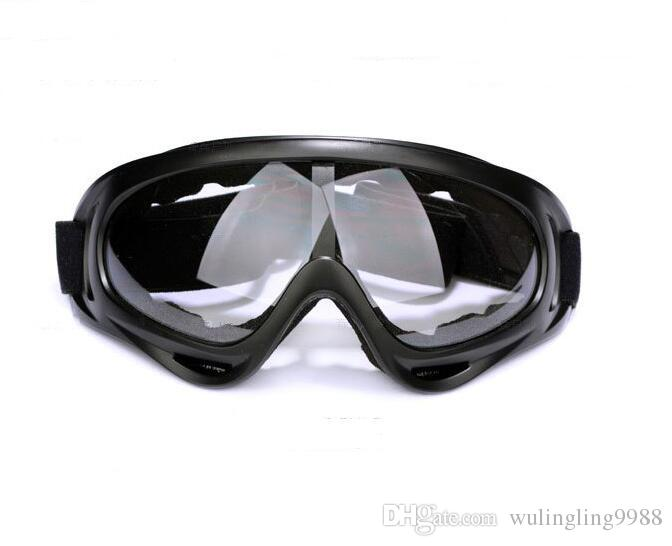 X400 사이클링 안경 CS 방풍 안경 스포츠 유리 하이킹 스키 선글라스 오토바이 선글라스 반사 방폭 방지 고글 안경