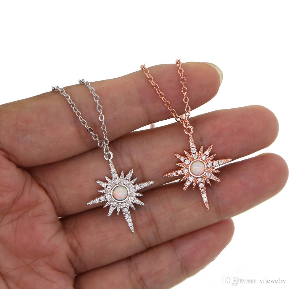 Wholesale Fashion Gold Plated Jewelry Northstar Pendant