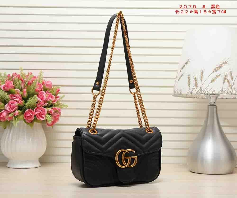 13fd73e8c2b 2018 GUCCI Women Shoulder Bag Wallet CHAIN Messenger Bag HANDBAG WALLET  2019 LOUIS VUITTON Marmont michael 8 kors MK LV GG From Xiaohu7