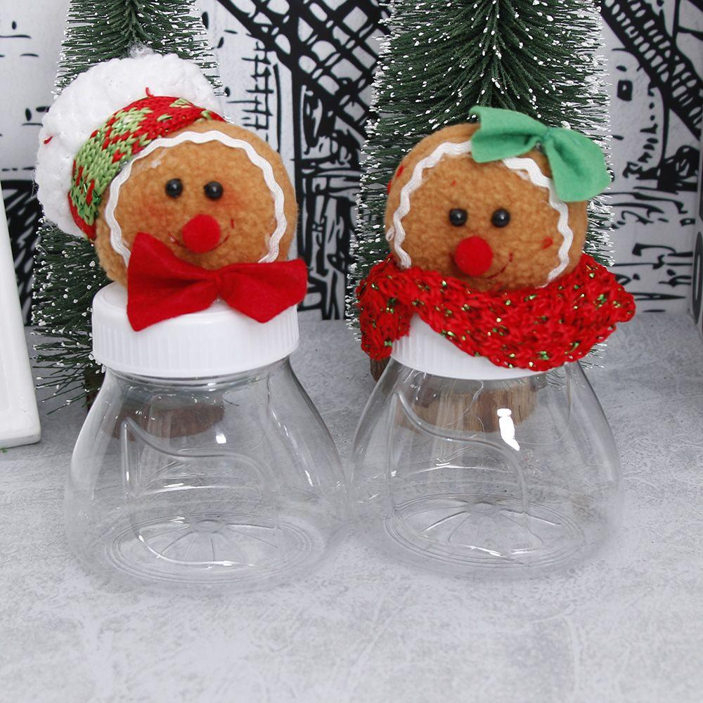 2018 Mouse Over Image To Zoom Christmas Ginger Bread Candy Bottle Jar  Storage Sweet Gifts Box Container Decors Christmas Ginger Brea From Natal,  ...