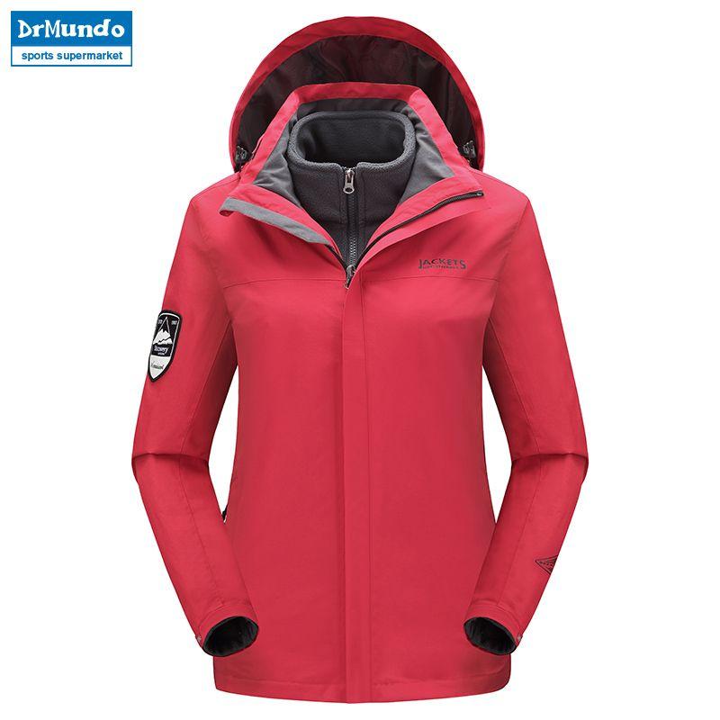 2019 Ski Jacket Women Waterproof Mountain Ski Warm Plus Size Fleece Ski Wear  Outdoor Snowboard Jacket Windproof Snow Coat Clothes From Shanquanwat 80fbe5115